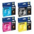 Cartucho Epson T196 preto/color ORIGINAL (cada cor)