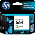 Cartucho HP F6V28AB ORIGINAL color 664