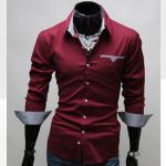 Camisa Casual - Estilo Luxury Slim Fit