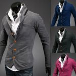 Cardigan Sweater Estilo Fashion Slim Fit