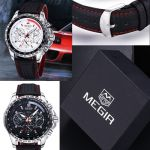 Relógio Megir Wrist Watch Luxury  - foto 4