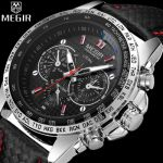 Relógio Megir Wrist Watch Luxury