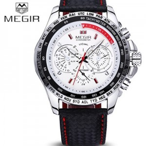 Relógio Megir Wrist Watch Luxury  - foto principal 3