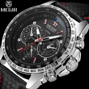 Relógio Megir Wrist Watch Luxury  - foto principal 1