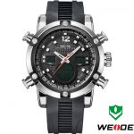 Relógio Weide Sports Military Rubber