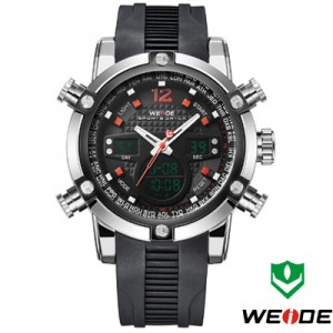 Relógio Weide Sports Military Rubber  - foto principal 3