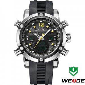 Relógio Weide Sports Military Rubber  - foto principal 4