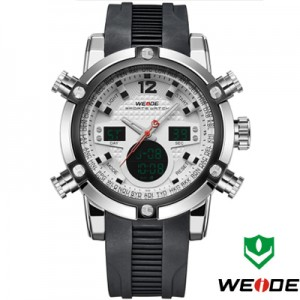 Relógio Weide Sports Military Rubber  - foto principal 5