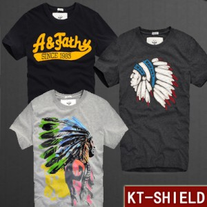 Kit Com 3 Camisetas Bordadas KT-SHIELD  - foto principal 1