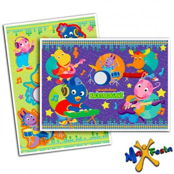 Kit Decorativo Cartonado Backyardigans Music