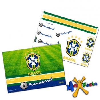 Kit Decorativo Cartonado CBF