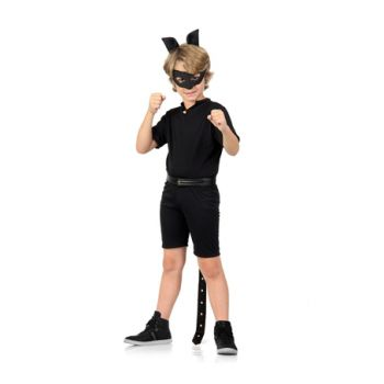 Fantasia Cat Noir Curta Infantil