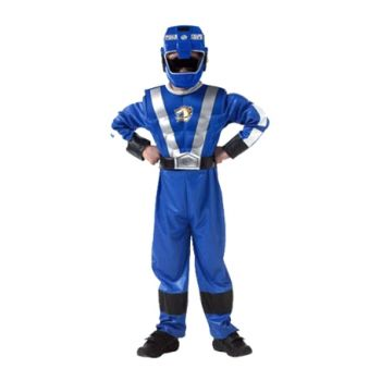 Fantasia Power Rangers Blue Longa Infantil