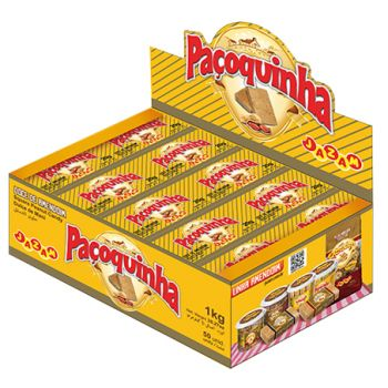 Paçoquinha Display 1 Kg - Jazam