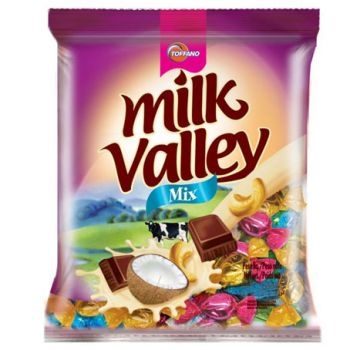 Bala Milk Valley Mix 500 gramas - Toffano