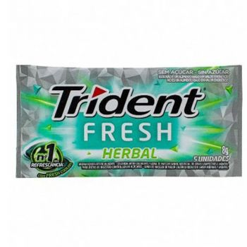 Trident Fresh Herbal 168 gramas - Mondelez