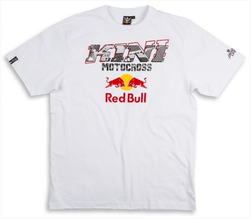 T-Shirt Kini Red Bull Evolution Tee White