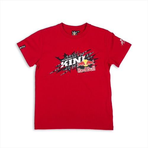 T-Shirt Infantil Kini Red Bull Ripped Red