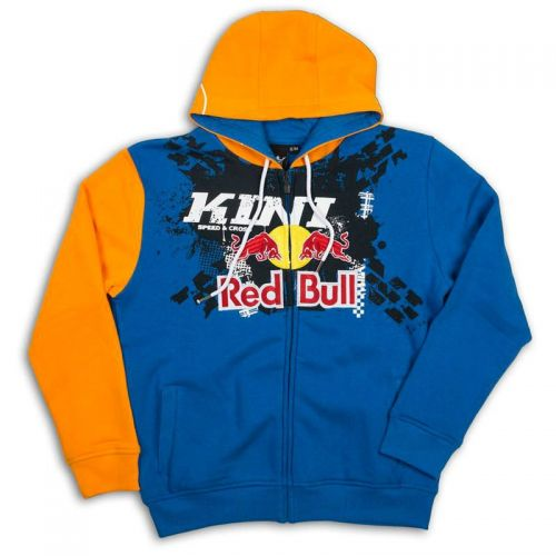 Moletom Kini Red Bull Infantil Crossed Orange Blue