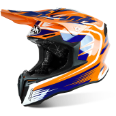 CAPACETE AIROH TWIST MIX ORANGE GLOSS  2017