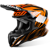 CAPACETE AIROH TWIST EVIL ORANGE GLOSS  2017