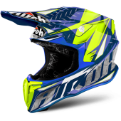 Capacete Airoh Twist Iron Blue Gloss