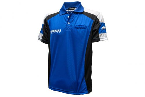 Polo Masculina Yamaha Racing Blue
