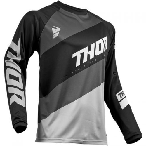 Camisa Thor S19 Sector Shear Preto / Cinza