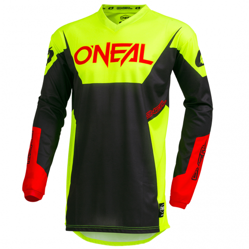 Camisa ONeal Element Racewear Neon Yellow
