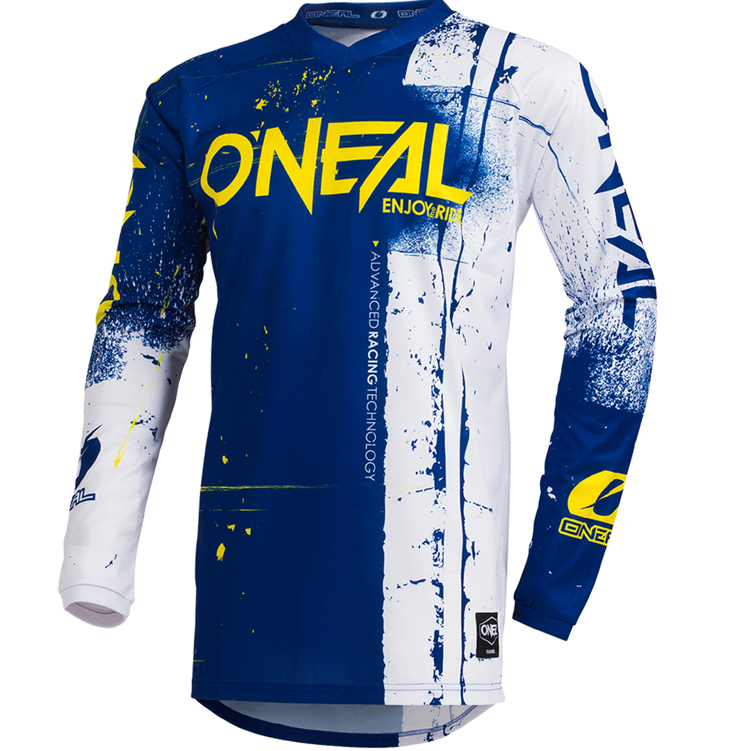 Camisa ONeal Element Shred Blue  - foto principal 1