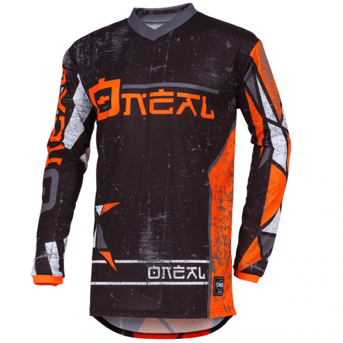 Camisa O'Neal Element Zen Neon Orange