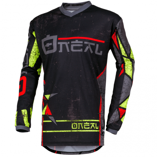 Camisa ONeal Element Zen Neon Yellow