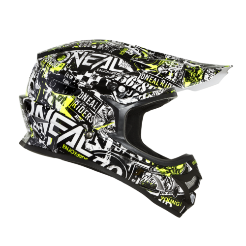 Capacete Oneal 3Series Attack - Black