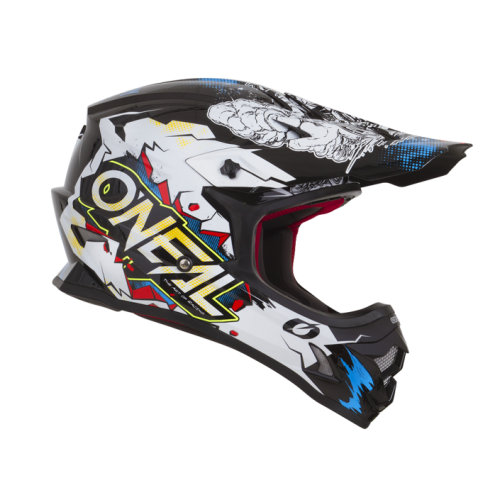 Capacete Oneal 3Series Villain - White