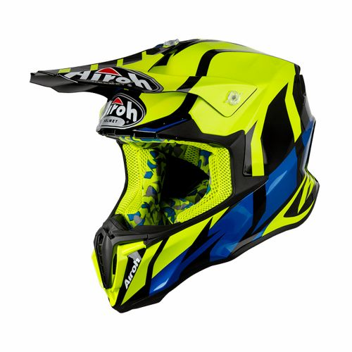 Capacete Airoh Twist Great Yellow