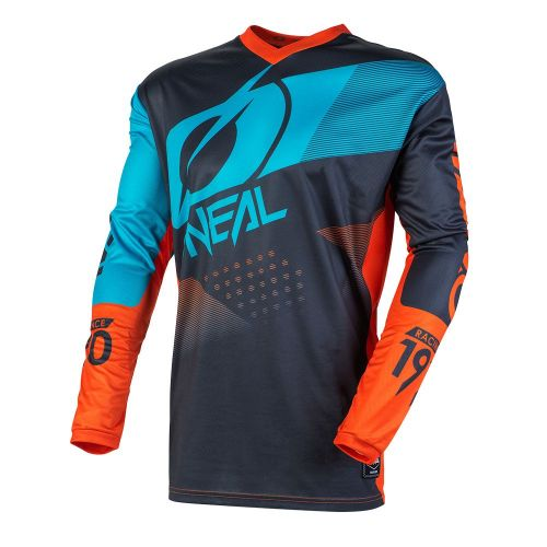 Camisa ONEAL Element Factor Laranja / Azul
