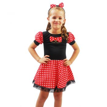 Fantasia Ratinha - Minnie Infantil