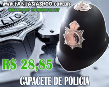 Capacete Policial Londrino