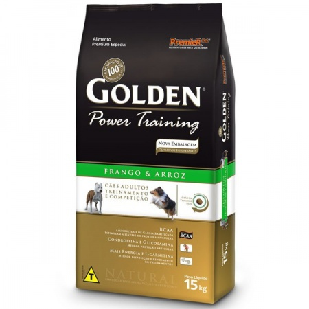 GOLDEN FORMULA POWER TRAINING ADULTO 15KG