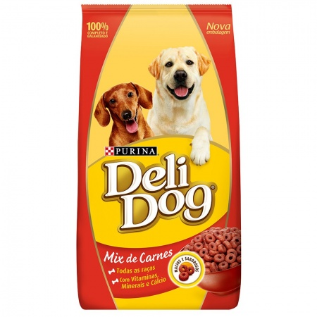 PURINA DELIDOG MIX DE CARNES ADULTO 900G