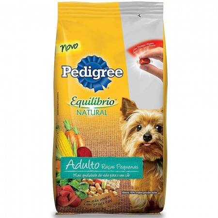 PEDIGREE EQUILIBRIO NATURAL ADULTO RAÇAS PEQUENAS A PARTIR DE: