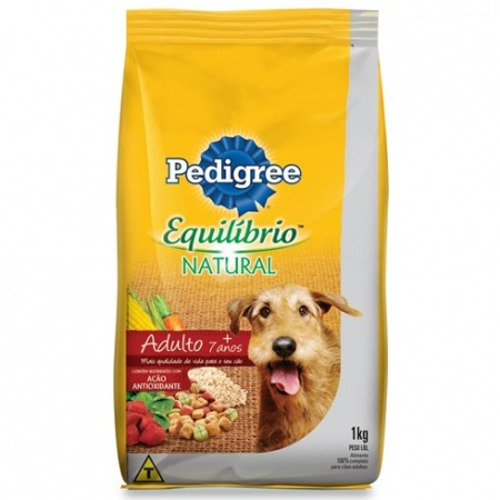 PEDIGREE EQUILIBRIO NATURAL SENIOR +7 ANOS A PARTIR DE: