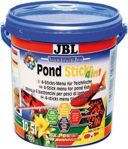 JBL POND STICKS 4X1 1680G - RAÇÃO CARPAS KINGUIOS