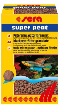 SERA SUPER PEAT 500G (TURFA NATURAL PELETIZADA) - UN