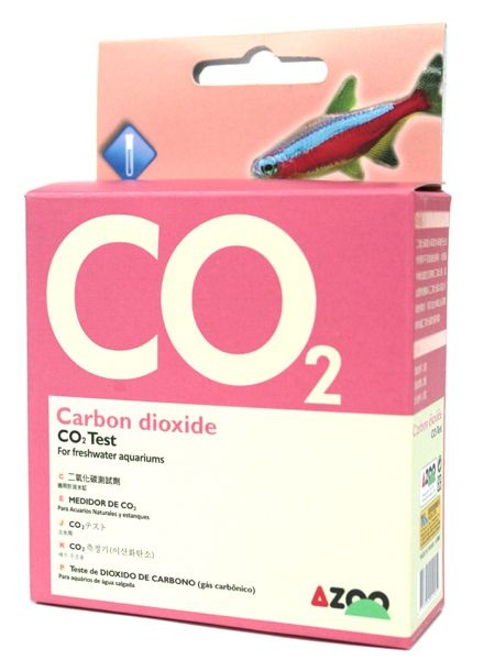 AZOO TESTE DE GAS CARBONICO ( TEST CARBON DIOXIDE CO2 )