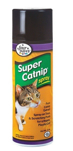 CHALESCO CAT NIP SPRAY FOUR PAWS 143G