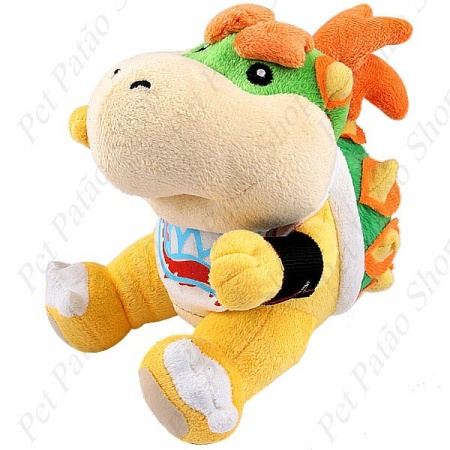 PELUCIA PERSONAGENS SUPER MARIO -  BOWSER - UN