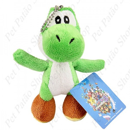 PELUCIA PERSONAGENS SUPER MARIO DINOSSAURO UN