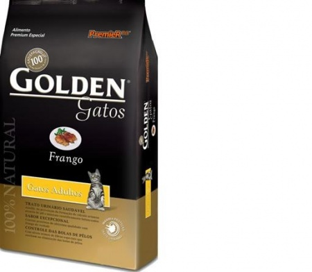 GOLDEN GATOS ADULTO FRANGO 10,1KG - PREMIER