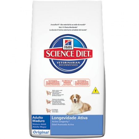 HILL´S SCIENCE DIET CANINO MADUROS ORIGINAL 7.5KG (CÃES COM + 7 ANOS)